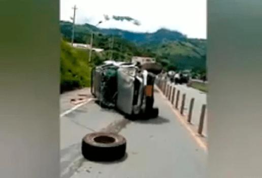 Camión sin frenos