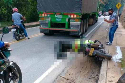 Policía perdió la vida en accidente