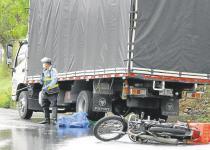 Accidente en la vía a Girón