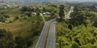 vía Medellín - Manizales