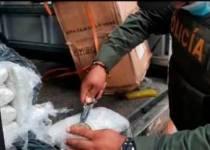camión con droga Bolívar