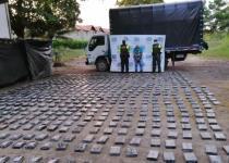incautados 682 paquetes de droga en sucre