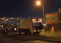accidente camión de basura