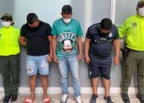 capturados banda hurto de camiones