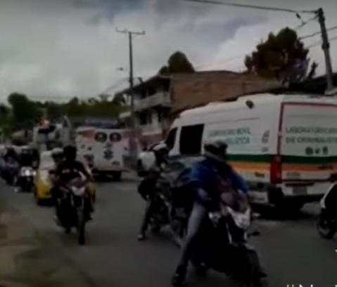 accidente bus vía Cauca