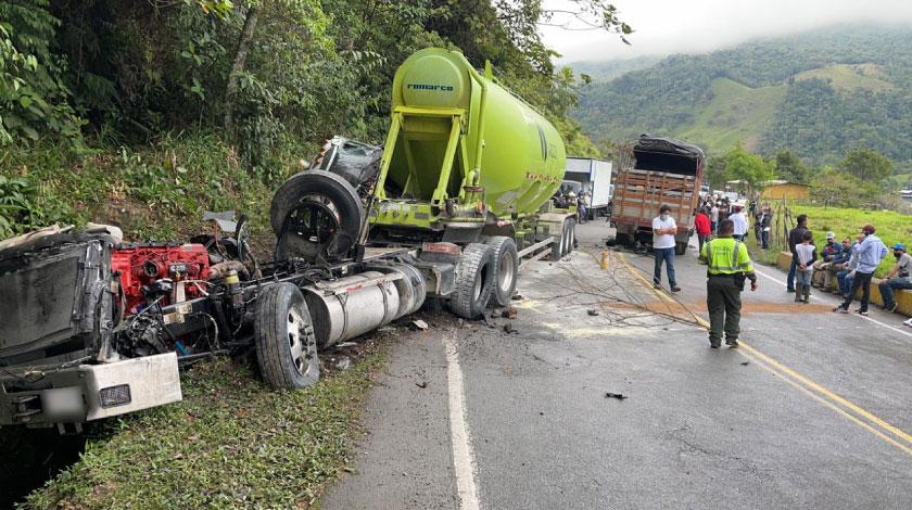 Accidente Medellín- Bogotá
