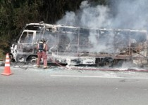 bus se incineró